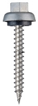#12 x 3/4 Zinc Alloy Cap Stitch Screw - Bag of 250
