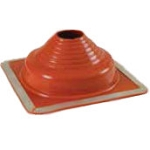Square Base Silicone Pipe Flashing