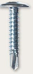 #8 Zinc Plated Wafer Head Self Drill Point Phillip Drive Metal to Metal