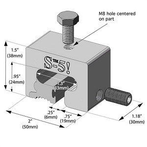 S-5-T Mini a Rooftop Seam Clamp