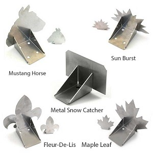 Metal Snow Catcher