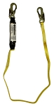 6' Double Lock Top Straight Leg Lanyard 1' Double Lock
